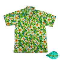 Foam green hawaii shirt