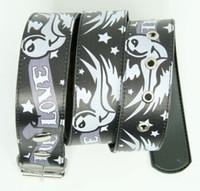 True love grey animal belt