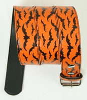 Bat orange animal belt
