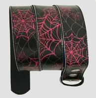 Spider black-pink animal belt