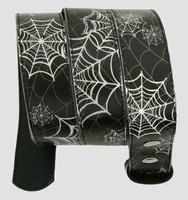 Spider black-white animal belt