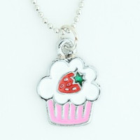 Cake sweet necklace