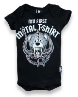 My first metal shirt six bunnies baby body
