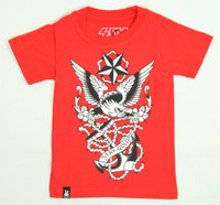 Eagle red six bunnies t-shirt
