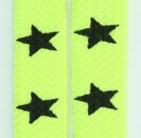 Star big yellow star shoelace
