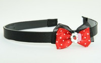 Black-Red / cake red bow & sweet
