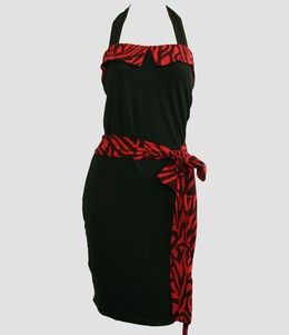 Front - DT zebra red belt pin up