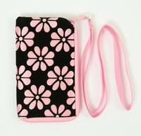 Flower L-pink mobile bag
