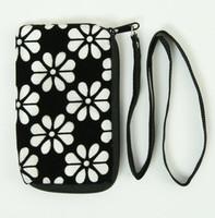 Flower white mobile bag