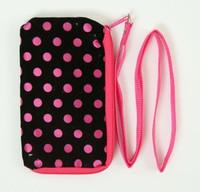 Dot D-pink mobile bag