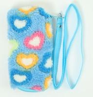 Heart blue mobile bag