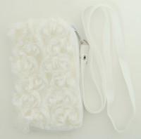 Plain white mobile bag