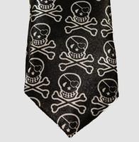 Skull empty necktie accessory