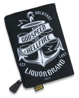 LB anchor liquorbrand cosmetic bag