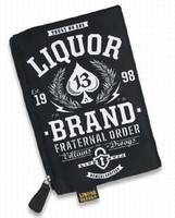 Droogs liquorbrand cosmetic bag