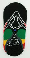 M rasta socks accessory