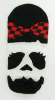 M check bow socks accessory