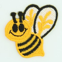 S bee medium patch