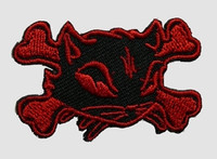 S cat bone black-red