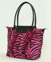Zebra pink design bag