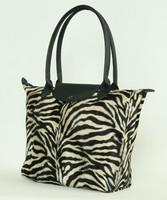 Zebra brown design bag