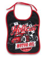 HRHC motor oil hotrod hellcat bib