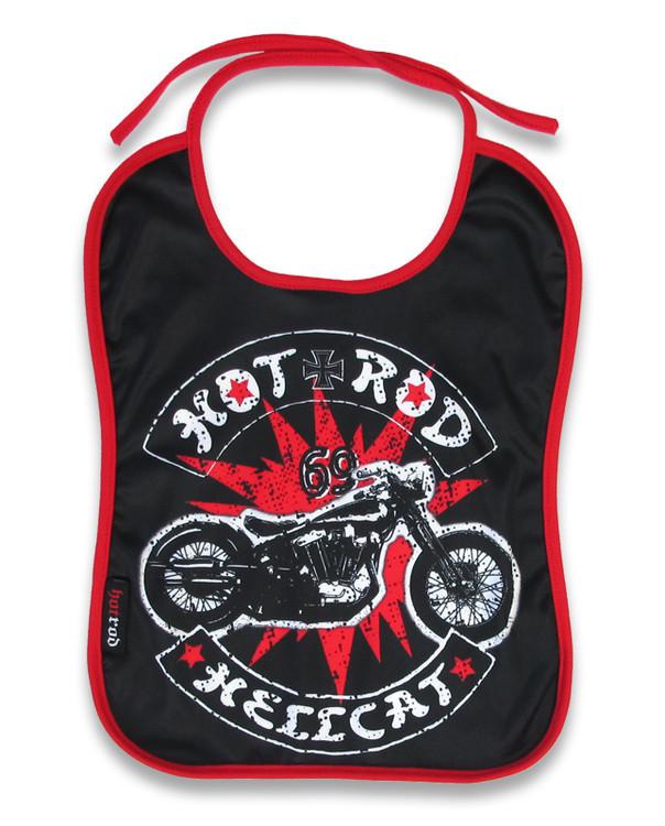 HRHC bobber hotrod hellcat bib