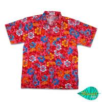 H fullibiscus red hawaii shirt