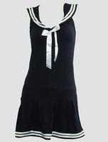 Front - Dress u navy sailor dress
