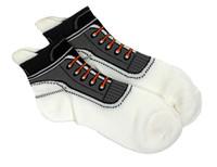 Shoes socks white
