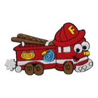 Fire fighter car - cute engine