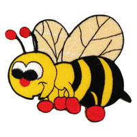 Bee bumble cute yellow honey
