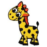 Baby giraffe cute yellow