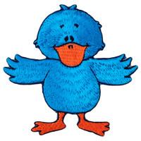 Blue donald duck