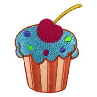 Cupcake candy cherry muffin