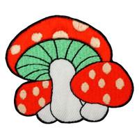 3 mushrooms killer red