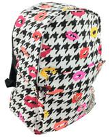 Color kisses on white mix rucksack