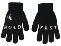 Black and white hold fast gloves liquorbrand
