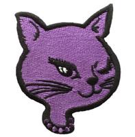Cat head purple animal extra big