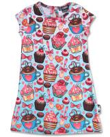 Cupcake blue six bunnies dress