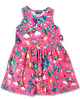 Unicorn pink six bunnies dress