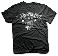 Blood, sweat & beers black - gas monkey garage