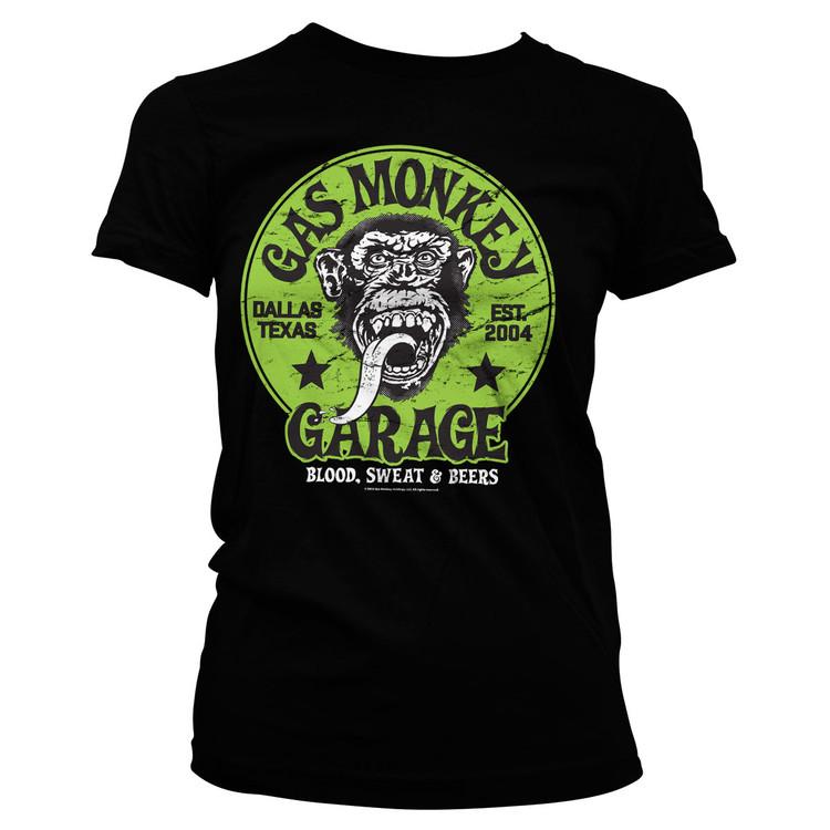 Proud rebel green emblem - gas monkey garage