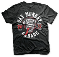 The original Gas Monkey in red tongue.