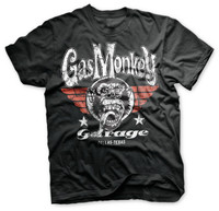 Aerial red wings - gas monkey garage