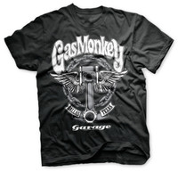 Piston & Chains - Gas Monkey Garage T-Shirt