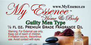 Fragrance - Guilty Men Type - .5 oz