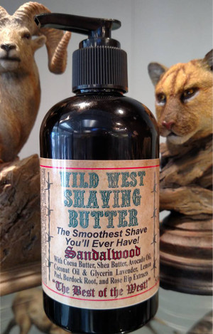 Wild West Shaving Butter for Men