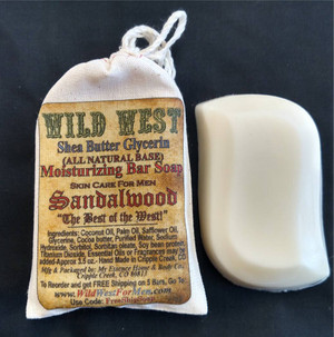 Wild West All Natural Moisturizing Glycerin Bar Soaps (3)