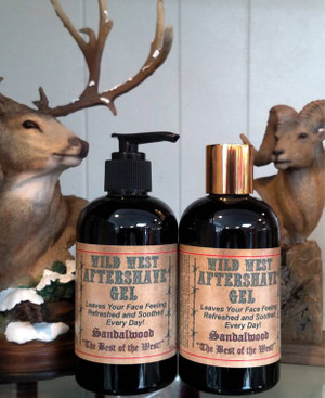 Wild West Aftershave Gel for Men-ABC School